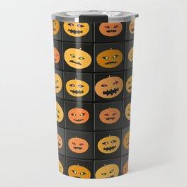Pumpkin Check Travel Mug