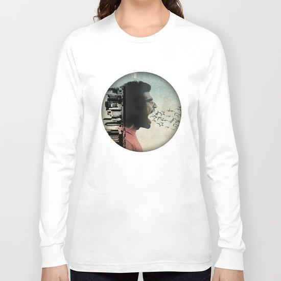 the sound of birds Long Sleeve T-shirt