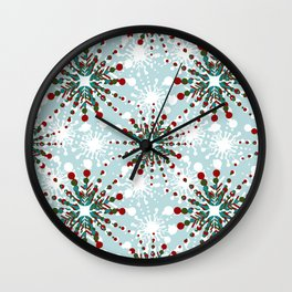 Christmas Nordic de Lite - CNDL006 Wall Clock