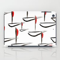 boats iPad Cases featuring Boats by Elly F