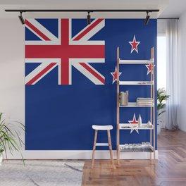 Flag of new zealand 3 -zealand,New Zealander,Kiwi,wellington,Auckland. Wall Mural
