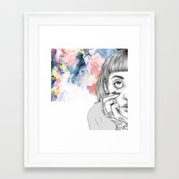 creativity Framed Art Prints featuring Creativity by p-antiscians