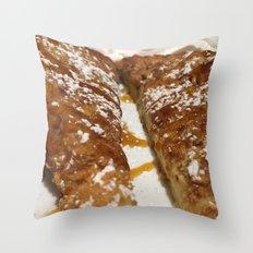 French Toast. Throw Pillow