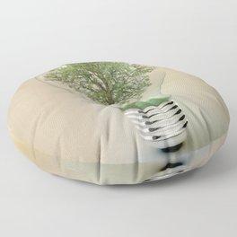 green ideas Floor Pillow