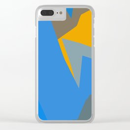 Deep in the wordly ocean Clear iPhone Case