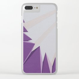 Geomorphosis Clear iPhone Case