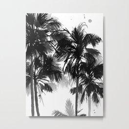 Paradis Noir VII Metal Print