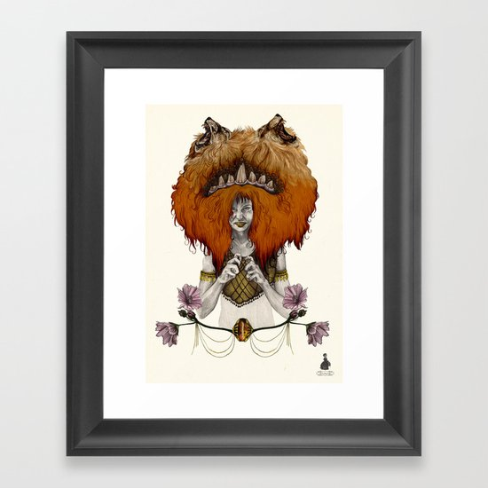 L  E  O [in colour] Framed Art Print