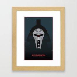 Battlestar Galactica - Old and New Framed Art Print