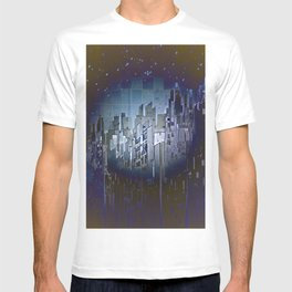 Walls in the Night - UFOs in the Sky T-shirt