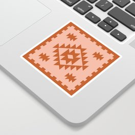Zili in Peach Sticker
