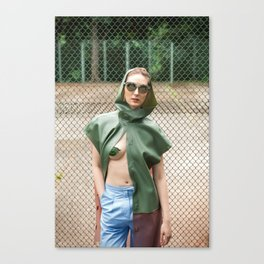 Smooth Confess Canvas Print