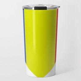 romania flag Travel Mug