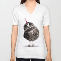 punk V-neck T-shirts featuring Punk by Isaiah K. Stephens