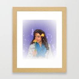 Emmy Framed Art Print
