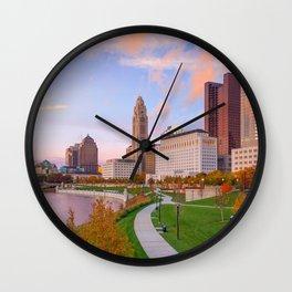 Columbus 01 - USA Wall Clock