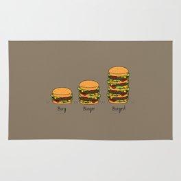 Burger explained. Burg. Burger. Burgest. Rug