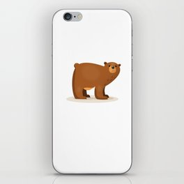 Cute Bear iPhone Skin