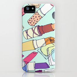 The make-up enthusiast iPhone Case