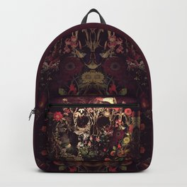 Bloom Skull Backpack