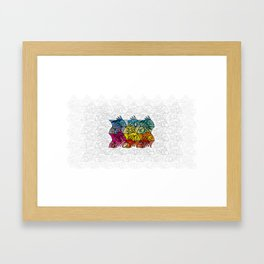 EscherFishes Framed Art Print