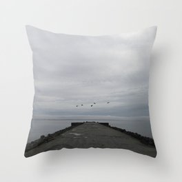 northern melancholy Throw Pillow