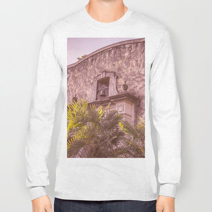 Palm Tree Summer - The Alamo Long Sleeve T-shirt