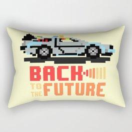 Back to the future: Delorean Rectangular Pillow