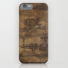 Mess Downstream, the Auteuil Quai (1885) by Henri Rousseau. iPhone Case
