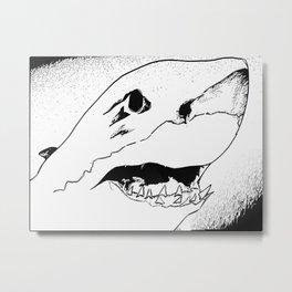 Great White Metal Print