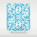 Traditional Seamless Mediterranean Ornament. Tile Pattern in Majolica Style by savgraf