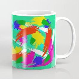 Green Emotions Coffee Mug