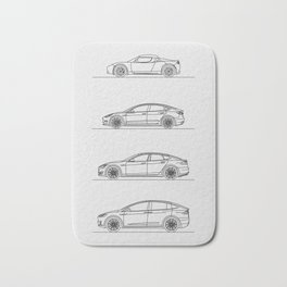 TESLA LINE UP Bath Mat