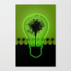 BulB Tree Canvas Print