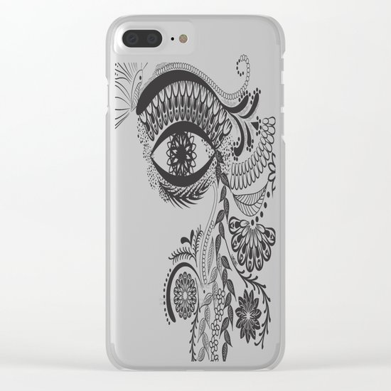 Eye see you Clear iPhone Case