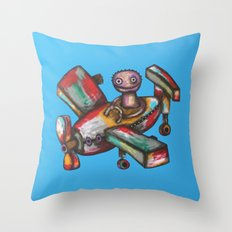 Aeroplane Throw Pillow