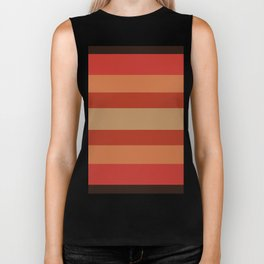 Earthy Terracotta - Color Therapy Biker Tank