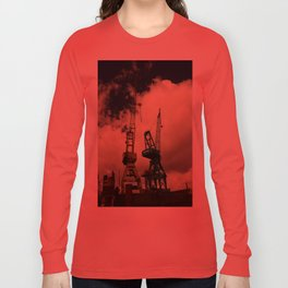 Harbor Crane Long Sleeve T-shirt