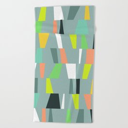 Modern Geometric 41 Beach Towel