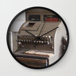Old Cash Register Wall Clock