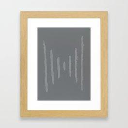 A #11 - Minimalistic (muted) Framed Art Print