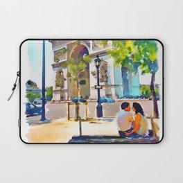 The Arc de Triomphe Paris Laptop Sleeve