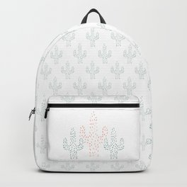 Watercolor Cactus Backpack