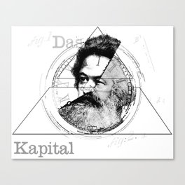 The Time of Marx Canvas Print