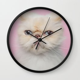 Lord Aries Cat - Photography 017 Wall Clock