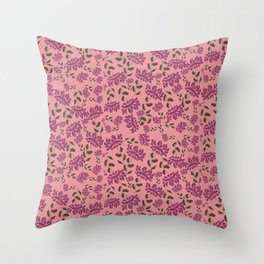 Mini Exotics Throw Pillow