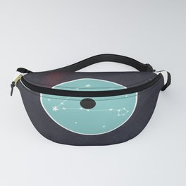 Vinyl Record Star Sign Art | Pisces Fanny Pack