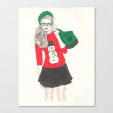 Christmas Fashion Canvas Print
