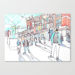 Cabbagetown Toronto Canvas Print