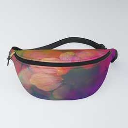 Echinacea photographed through a prism Fanny Pack
